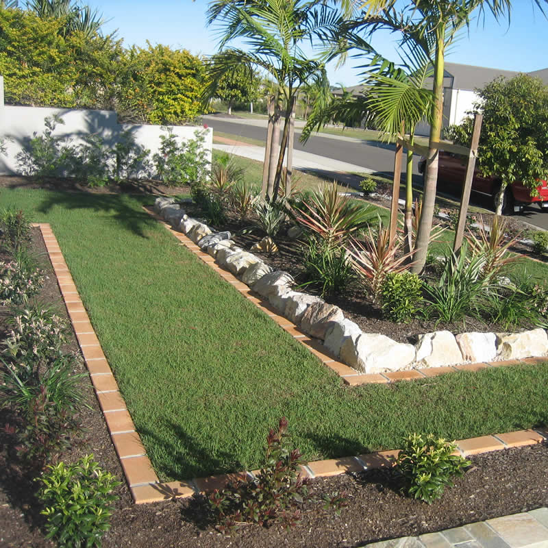 garden design landscaping service sunshine coast north