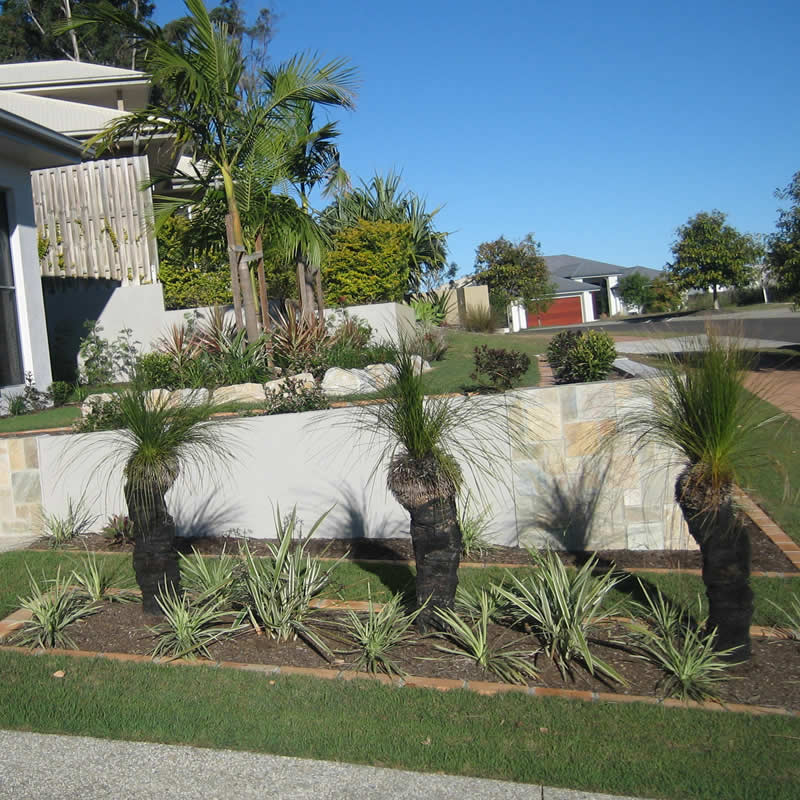Landscape gardening services brisbane for Queensland garden design