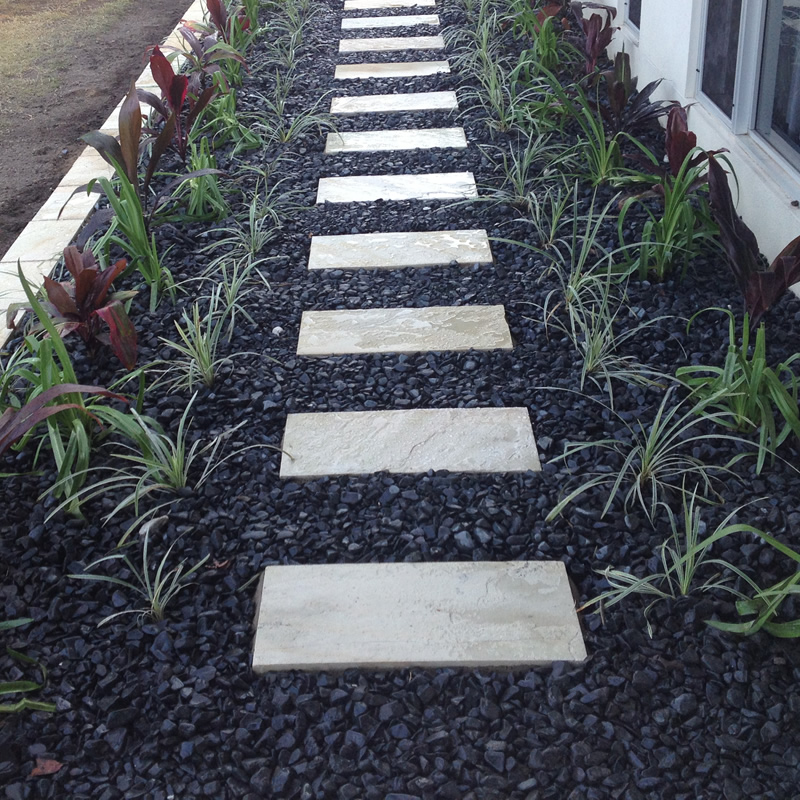 Landscaping Pebbles Sunshine Coast : Garden design landscaping service sunshine coast north