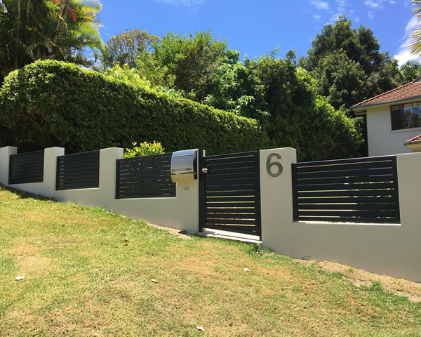 rendered fence sunshine coast