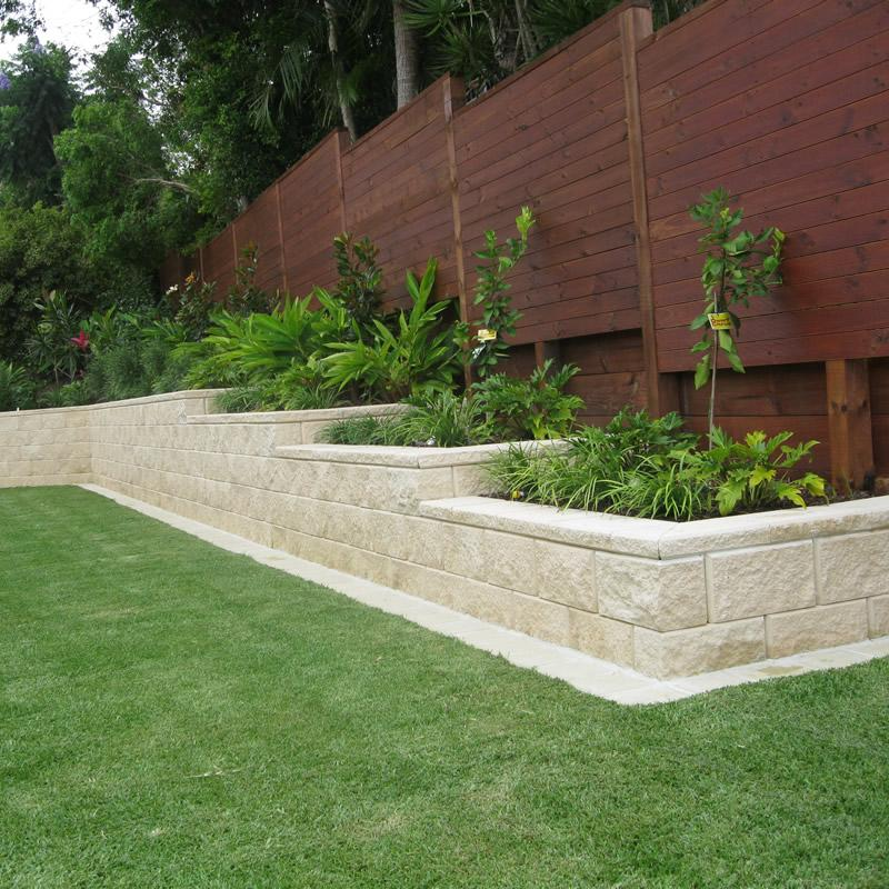 Wonderful Genial Versa Block Retaining Wall