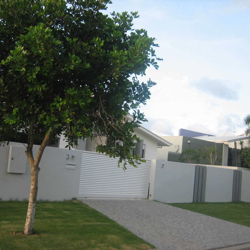 Rendered fencing